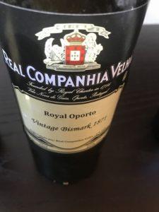 Royal Oporto Vintage Bismark 1871