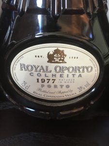 Royal Oporto Colheita 1977