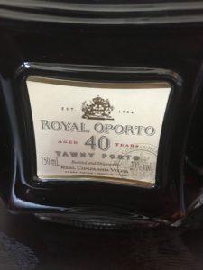 Royal Oporto tawny 40 anos