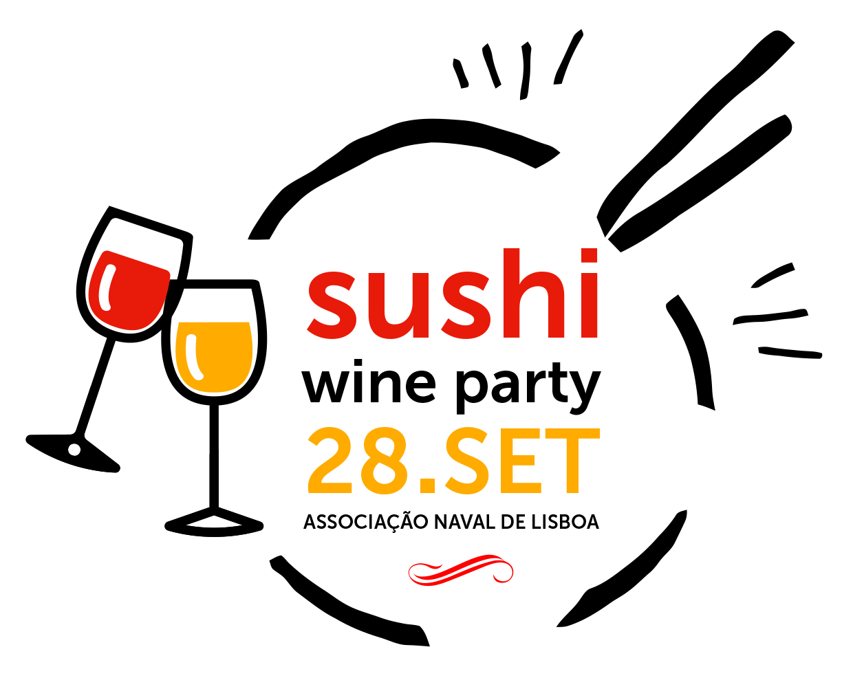 Sushi Wine Party 2019