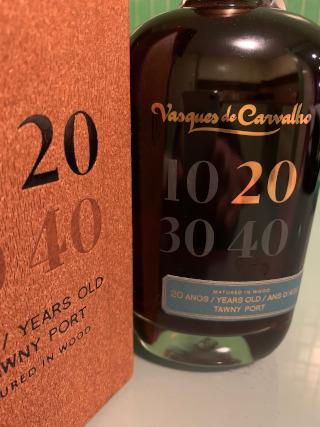 Vasques de Carvalho tawny 20 anos