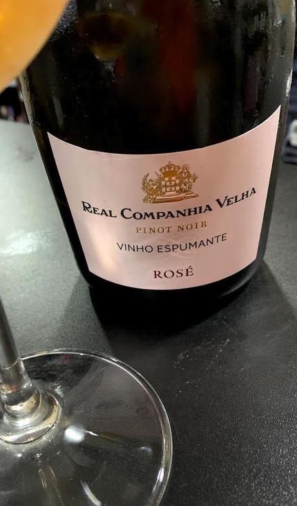 Real Companhia Velha Espumante Pinot Noir Bruto Rosé